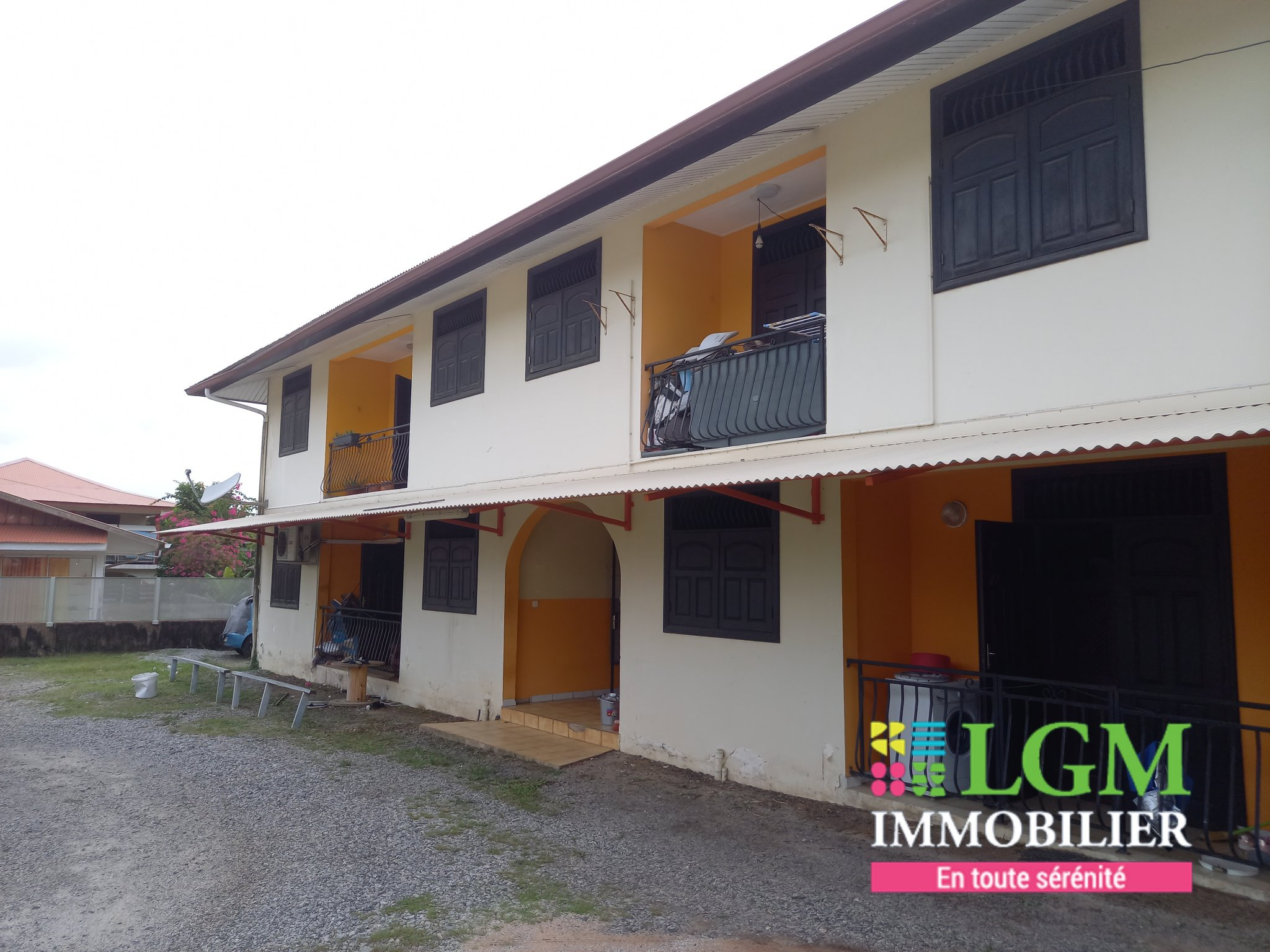 CAYENNE MONTABO Immeuble 8 appts 331 m2