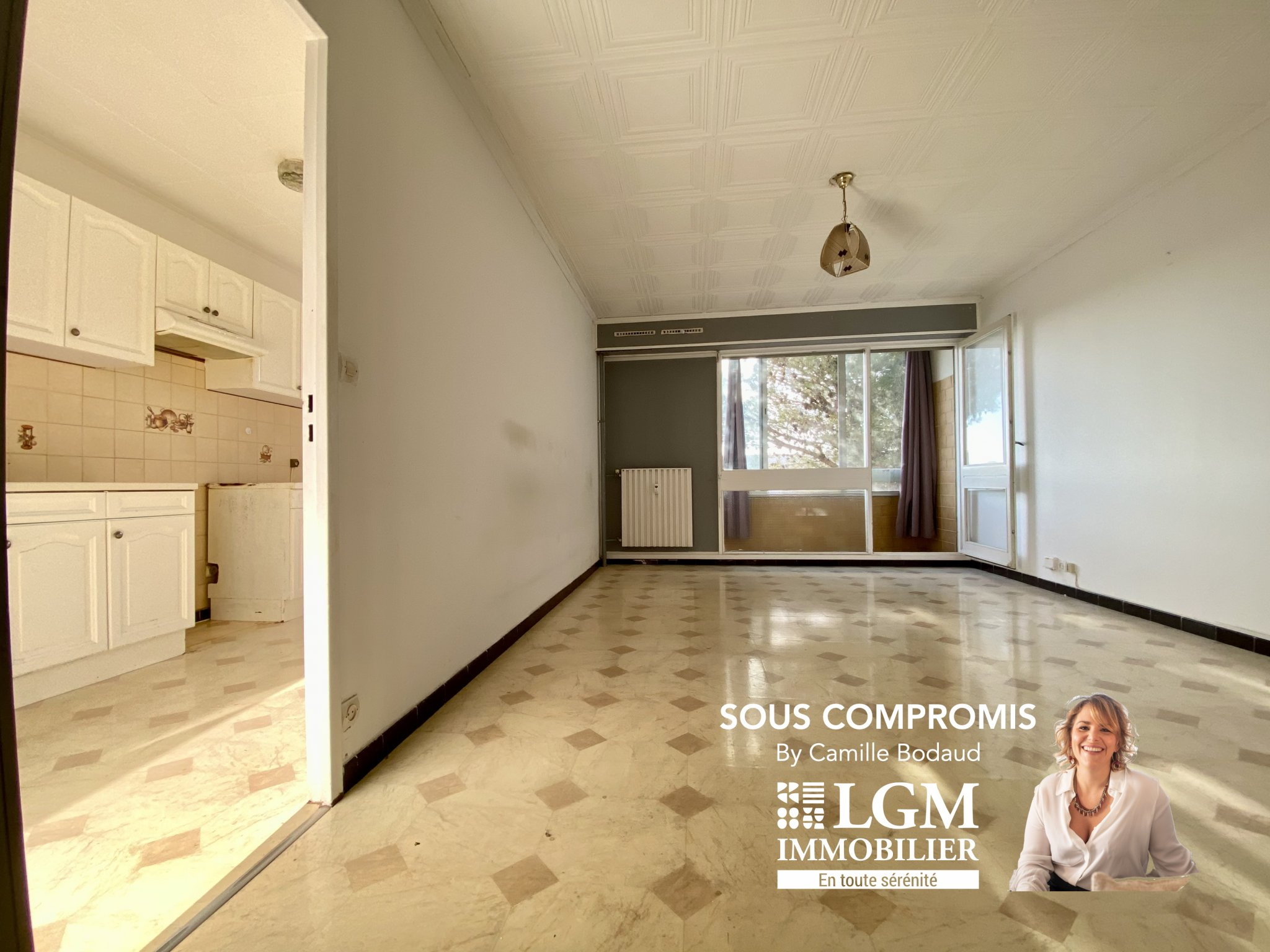 MONTPELLIER NORD – 3 PIECES + PARKING + CELLIER